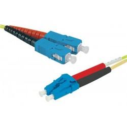 Cable 1 dvi i/m vers 2 vga /f
