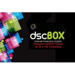 DscBOX extension 50 à 100...