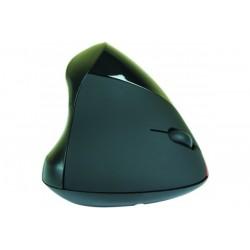 Souris verticale noire USB