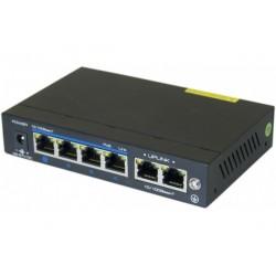 Dexlan switch 6P 10/100...