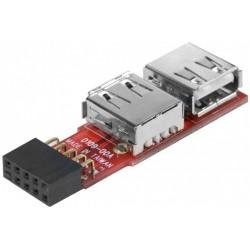 Adaptateur 2 ports USB 2.0...