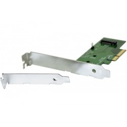 Carte PCI-Express 4X pour 1...
