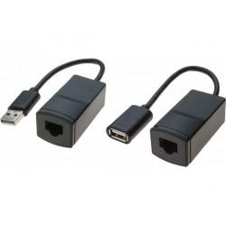 Extendeur USB sur RJ45 CAT5...