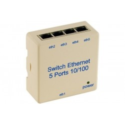 Switch 5 PORTS10/100 pour...