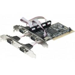 Carte PCI 4 ports série...