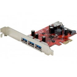 Carte d'extension pcie 4x...