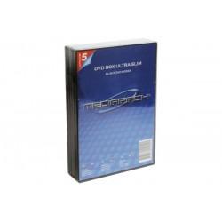 Boitier dvd slim noir 1 dvd...