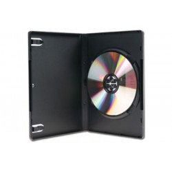 Boitier dvd std noir 1 dvd...