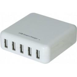 Chargeur secteur USB 5...