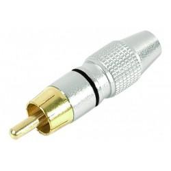 Connecteur RCA M métal...
