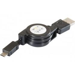 Cordon rétractable USB 2.0...