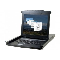 "Console LCD 17"" KVM 4 ports..."