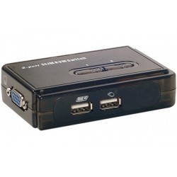 Pocket switch KVM VGA/USB 2...
