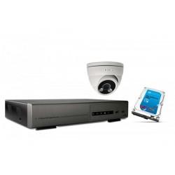 Kit vidéosurveillance IP...