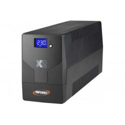INFOSEC Onduleur X2 LCD...
