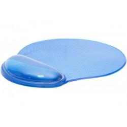Tapis souris gel bleu...