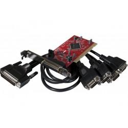 Carte PCI Low Profile 4...