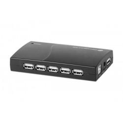 Hub USB 2.0 13 ports + alim...