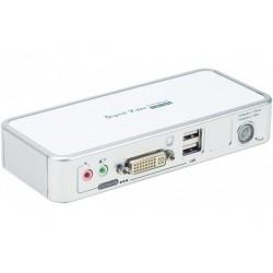 Kvm 2 ports DVI/USB 2.0 +...
